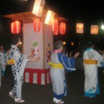 Obon, mid August